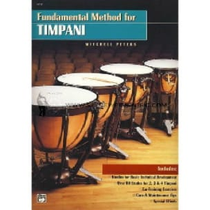 Mitchell Peters - Fundamental Method For Timpani - Sheet Music - di-arezzo.co.uk