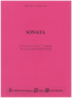 Sonata Benedetto Marcello Partition Trombone - laflutedepan