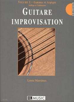 Guitare Improvisation Volume 1 - Gammes / Arpèges - laflutedepan.com