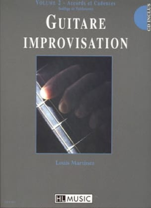 Guitare Improvisation Volume 2 - Accords / Cadences - laflutedepan.com