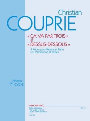 Ca Va Par Trois & Dessus-Dessous Christian Couprie laflutedepan