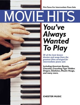 - Movie Hits You've Always Wanted To Play - Sheet Music - di-arezzo.com