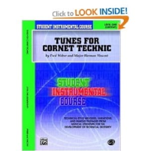 Weber F. / Vincent M.H. - Tunes For Cornet Technic Level One - Sheet Music - di-arezzo.co.uk