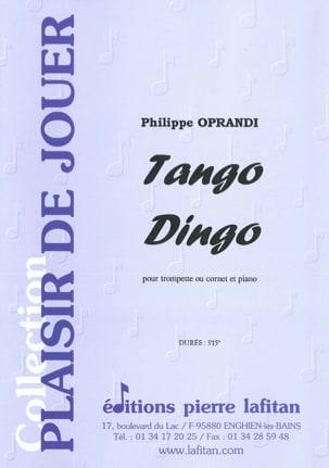 Tango Dingo Philippe Oprandi Partition Trompette - laflutedepan