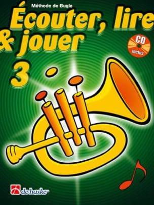 DE HASKE - Ecouter Lire et Jouer - Méthode Volume 3 - Bugle - Partition - di-arezzo.fr