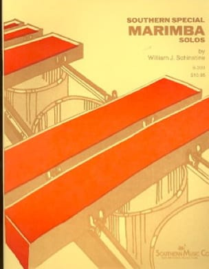 William J. Schinstine - Southern Special Marimba Solo - Partition - di-arezzo.fr