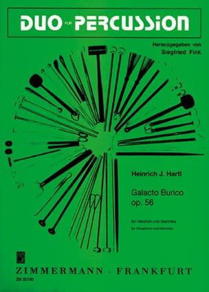 Heinrich Hartl - Galacto Burico Opus 56 - Partition - di-arezzo.fr