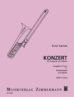 Ernst Sachse - Konzert In F Major - Sheet Music - di-arezzo.com