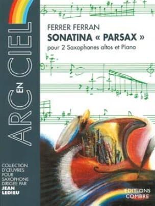 Sonatina Parsax Ferrer Ferran Partition Saxophone - laflutedepan