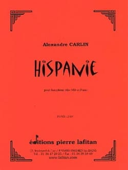 Alexandre Carlin - Hispania - Sheet Music - di-arezzo.co.uk