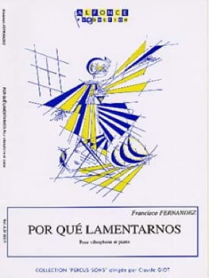 Francisco Fernandez - Por Qué Lamentarnos - Sheet Music - di-arezzo.co.uk