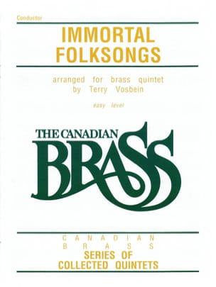 Immortal Folksongs Easy Level - Traditionnel - laflutedepan.com