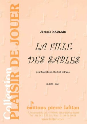 Jérôme Naulais - The Girl Of The Sands - Sheet Music - di-arezzo.co.uk
