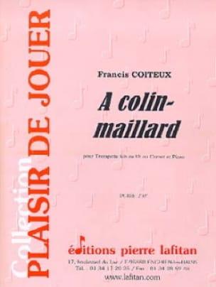 Francis Coiteux - A Colin-Maillard - Partition - di-arezzo.fr