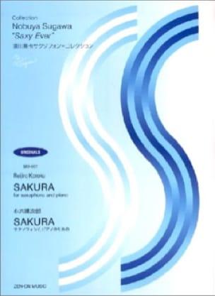 Sakura - Reijiro Koroku - Partition - Saxophone - laflutedepan.com