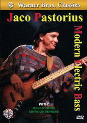 Jaco Pastorius - DVD - Modern Electric Bass - Sheet Music - di-arezzo.co.uk