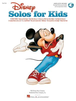 Disney Solos For Kids - Partition - laflutedepan.com