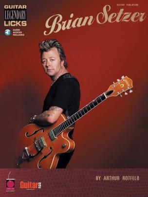 Guitar Legendary Licks - Brian Setzer - Partition - laflutedepan.com