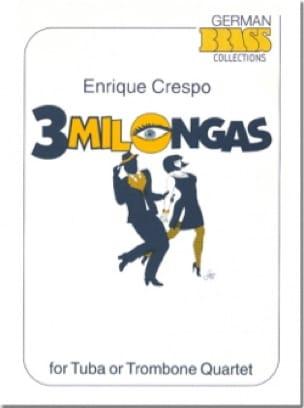 Enrique Crespo - 3 Milongas - Sheet Music - di-arezzo.com