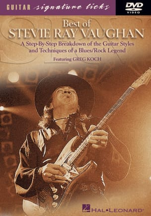 DVD - Best Of Stevie Ray Vaughan Greg Koch Partition laflutedepan