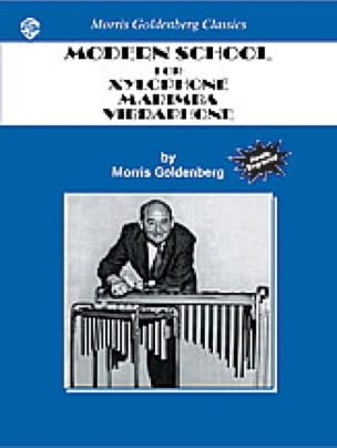 Morris Goldenberg - Modern School For Xylophone, Marimba, Vibraphone - Sheet Music - di-arezzo.co.uk