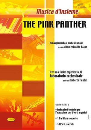 Henry Mancini - The Pink Panther The Pink Panther - Sheet Music - di-arezzo.com