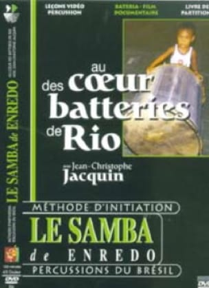 Jean-Christophe Jacquin - DVD - In The Heart Of Rio Drums, Samba de Enredo - Sheet Music - di-arezzo.co.uk