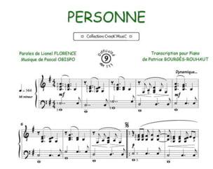 Pascal Obispo - persona - Partition - di-arezzo.es