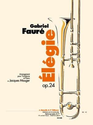Elégie Opus 24 - Gabriel Fauré - Partition - laflutedepan.com