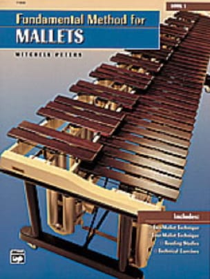 Mitchell Peters - Fundamental Method For Mallets Book 1 - Sheet Music - di-arezzo.com