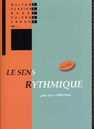 Jean-Yves Chouteau - Rhythmic sense with 2 CDs - Sheet Music - di-arezzo.co.uk