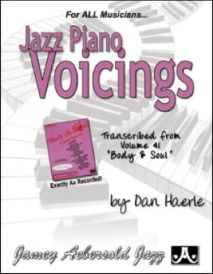 Jazz Piano Voicing Volume 41 METHODE AEBERSOLD Partition laflutedepan