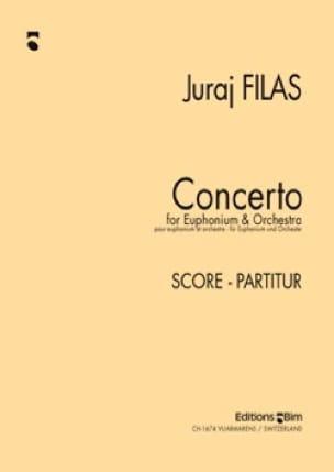 Juraj Filas - Concerto - Partition - di-arezzo.fr