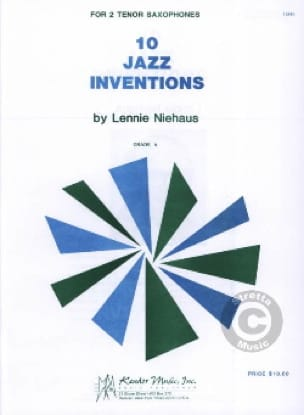 Lennie Niehaus - 10 Jazz Inventions - Sheet Music - di-arezzo.co.uk
