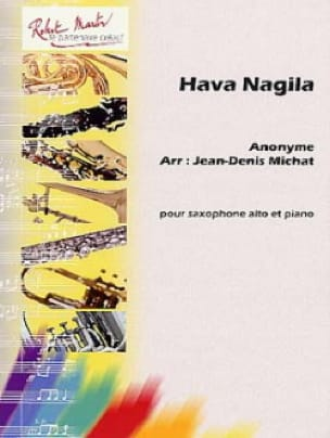 Hava Nagila Partition Saxophone - laflutedepan