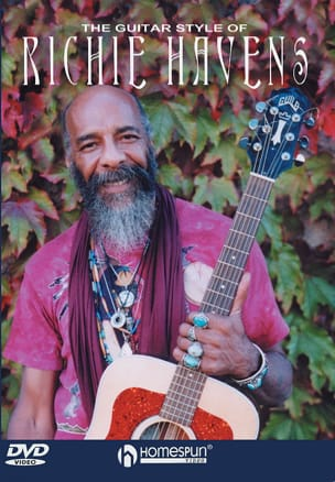 Richie Havens - DVD - The Guitar Style Of Richie Havens - Partition - di-arezzo.fr