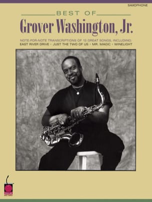 Best Of - Jr. Grover Washington, - Partition - laflutedepan.com