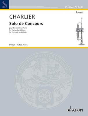 Théo Charlier - Solo of Competition - Sheet Music - di-arezzo.co.uk