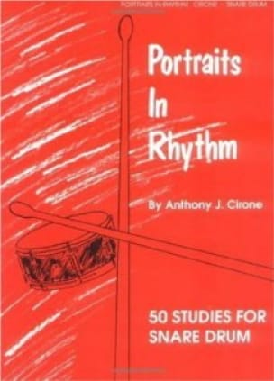 Anthony J. Cirone - Portraits In Rythm - Partition - di-arezzo.fr