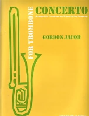 Gordon Jacob - Concerto For Trombone - Partition - di-arezzo.com