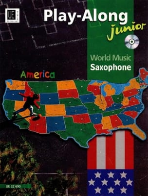- World Music America Play-Along Junior Saxophone - Partitura - di-arezzo.es