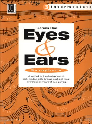 James Rae - Eyes & Ears Volume 3 - Intermediate - Partition - di-arezzo.fr