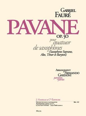 Gabriel Fauré - Pavane Opus 50 - Sheet Music - di-arezzo.co.uk