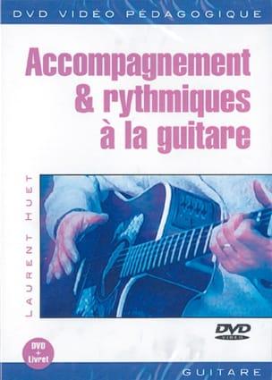 Laurent Huet - DVD - Accompaniment - rhythmic guitar - Partition - di-arezzo.com