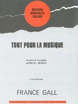 France Gall - オールフォーミュージック - 楽譜 - di-arezzo.jp