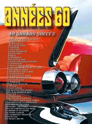 - 60s - 40 Great successes - Sheet Music - di-arezzo.com