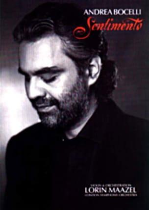Sentimento Andrea Bocelli Partition Musique du monde - laflutedepan