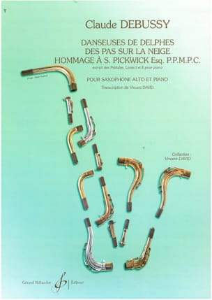 DEBUSSY - Dancers of Delphi, Steps on the Snow, Tribute to S. Pickwick Esq. PPMPC - Sheet Music - di-arezzo.com
