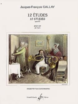 Jacques-François Gallay - 12 Etudes Opus 57 - Second Cor - Sheet Music - di-arezzo.com