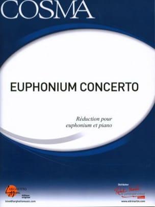 Vladimir Cosma - Euphonium Concerto - Partition - di-arezzo.fr